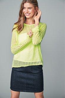 Next Crochet Long Sleeve T-Shirt