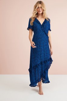 Next Frill Maxi Dress