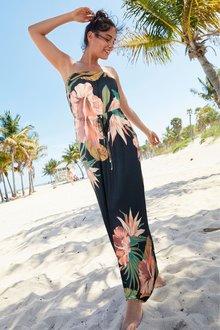 Next Bandeau Maxi Dress- Tall