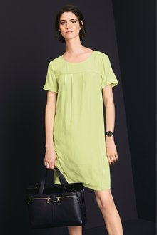 Next Woven Boxy T-Shirt Dress- Tall