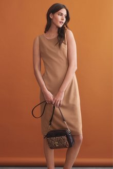 Next Sharkskin Texture Dress
