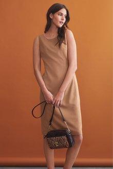 Next Sharkskin Texture Dress- Tall