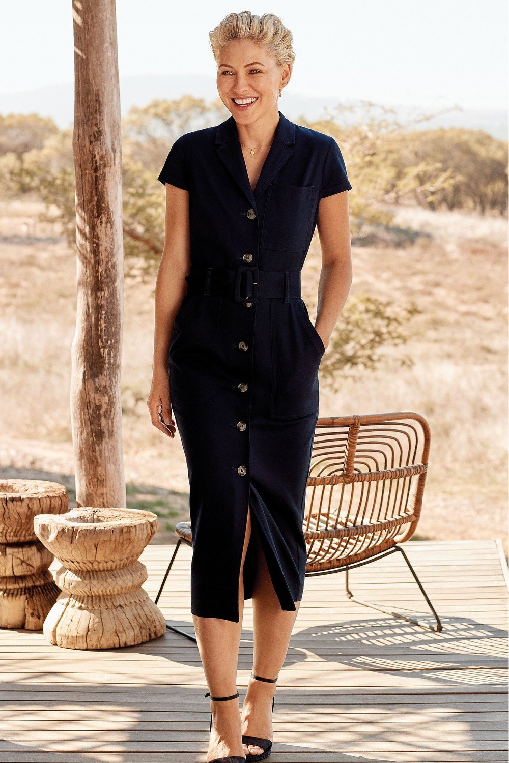 modern style really comfortable newest selection Next Emma Willis Belted Shirt Dress Online | Shop EziBuy