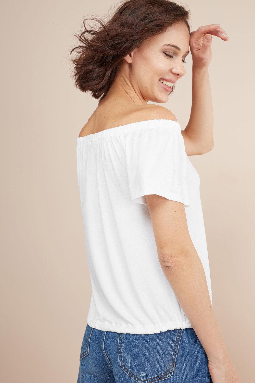 28edb58ac Next Bardot Tie Hem Top Online   Shop EziBuy