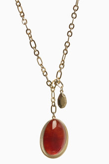 Next Maxi Stone Pendant Necklace