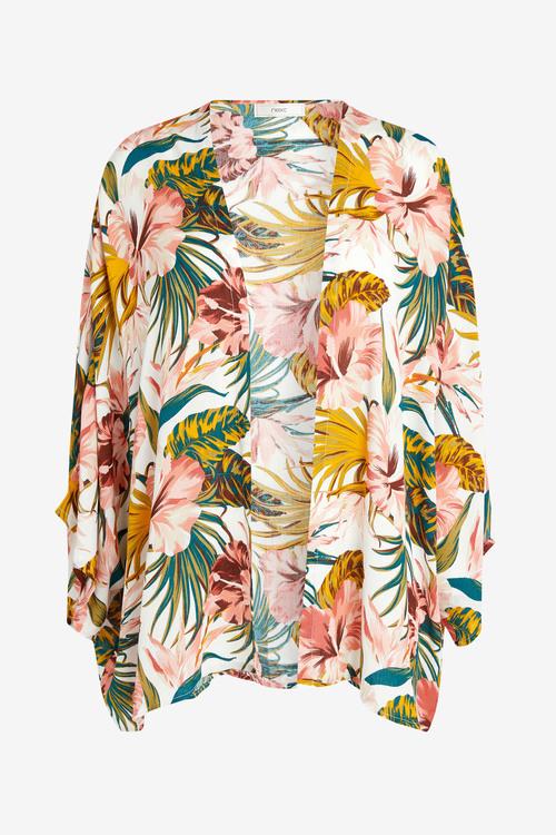 Next Floral Kimono