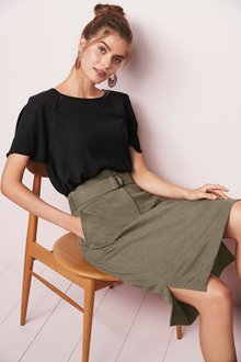 Next Utility Style Skirt- Tall