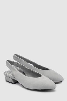 Next Leather Forever Comfort Slingback Shoes - 238931
