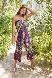 Next Bandeau Culotte Jumpsuit - 238958
