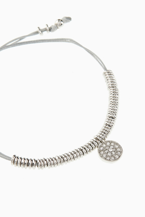 Next Sparkle Detail Cord Pully Bracelet