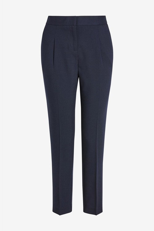 Next Elastic Back Tapered Trousers- Petite