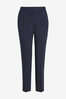 Next Elastic Back Tapered Trousers- Petite - 239016