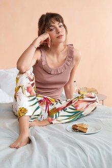 Next Rib Vest Pyjamas