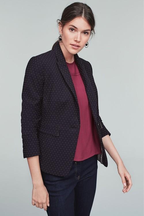 Next Pin Dot Single Breasted Jacket