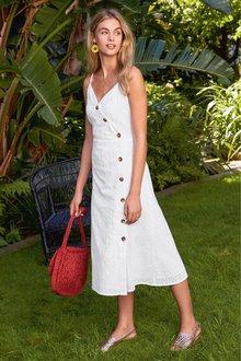 Next Broderie Dress- Tall