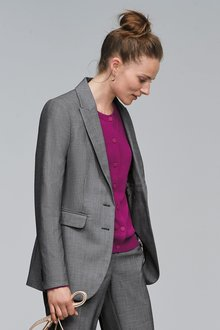 Next Sharkskin Texture Jacket
