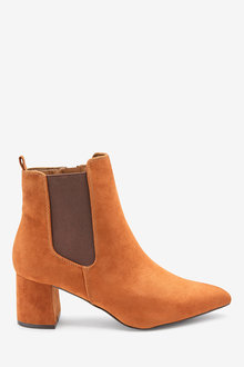 Next Forever Comfort Block Heel Ankle Boots
