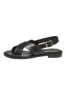 Next Signature Comfort Studded Cross Strap Sandals