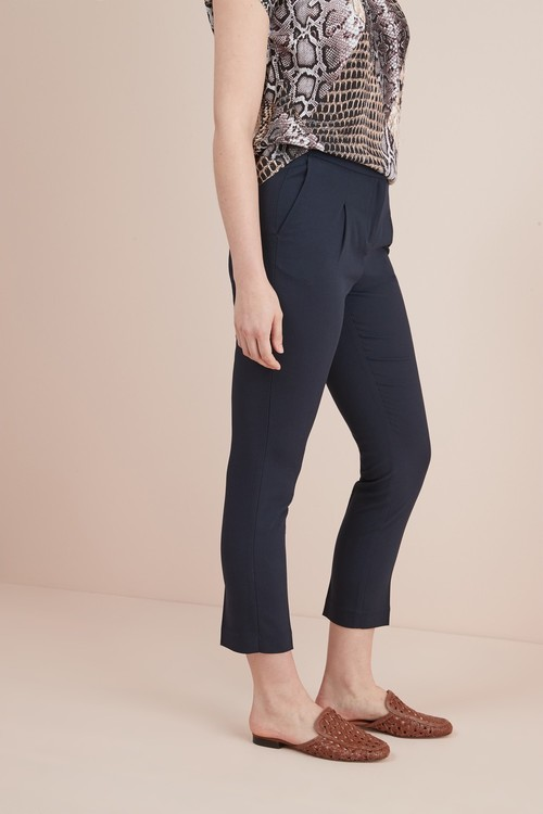 Next Elastic Back Tapered Trousers