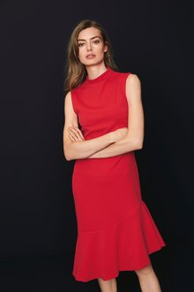 Next Frill Hem Jersey Dress- Tall