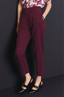 Next Belted Taper Trousers
