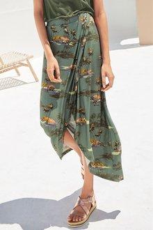 Next Wrap Maxi Skirt