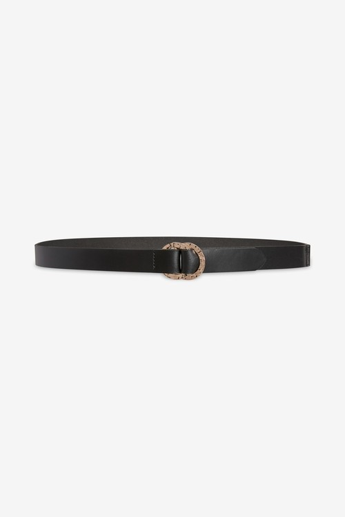 Next Hammered Circle Buckle Belt