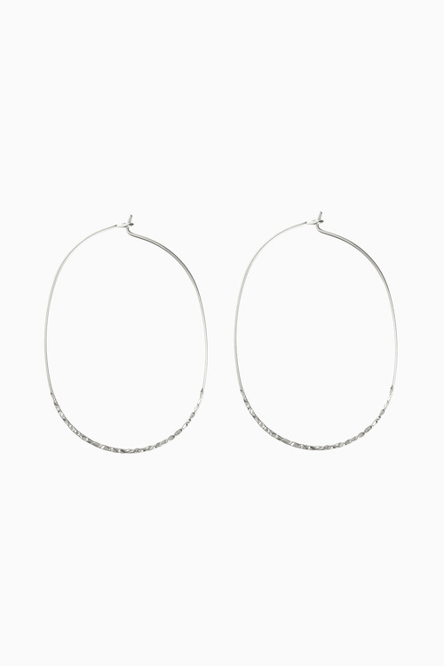 Next Fine Hammered Effect Hoops