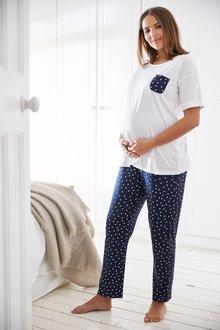 Next Maternity Cotton Pyjamas