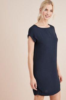 Next Boxy T-Shirt Dress-Tall