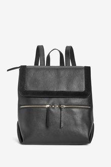 Next Leather Rucksack