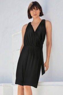 Next Wrap O-Ring Detail Dress