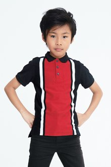 Next Vertical Block Poloshirt (3-16yrs)