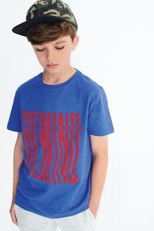 Next Rewind Slogan T-Shirt (3-16yrs)