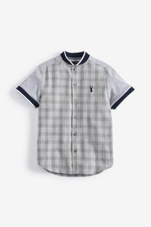 Next Short Sleeve Check Shirt (3-16yrs)
