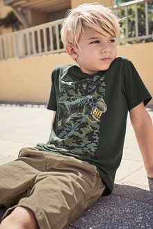 Next Dinosaur Camo Print T-Shirt (3-14yrs)