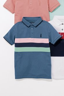 Next Chest Stripe Polo (3-16yrs)