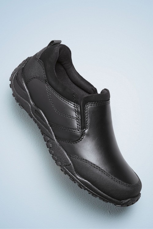 Next Leather Loafer Shoes (Older)- Wide Fit