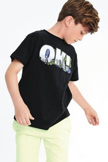 Next OK Slogan T-Shirt (3-16yrs)