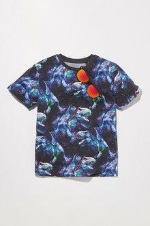Next Galactic Print Dinosaur T-Shirt (3-14yrs)