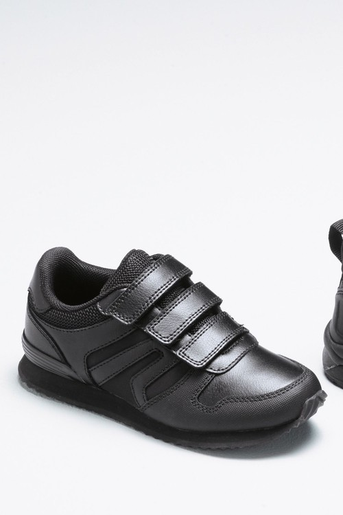 Next Triple Strap Leather Trainers (Older)