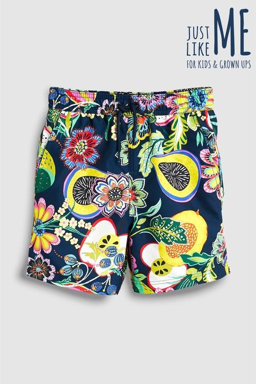 Next Bright Print Swim Shorts (3mths-16yrs)