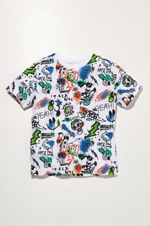 Next Graffiti Print T-Shirt (3-16yrs)