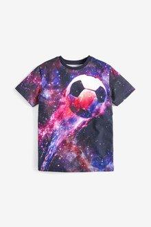 Next Graphic Football T-Shirt (3-16yrs)