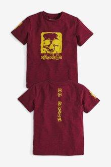 Next Graphic Skull T-Shirt (3-16yrs)