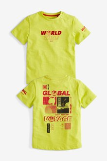 Next Graphic Global T-Shirt (3-16yrs)