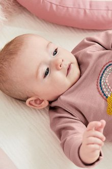 Next Rainbow Sweat Top And Leggings Set (0mths-2yrs)