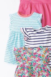 Next Frill Sleeve Jersey Dress (0mths-2yrs)