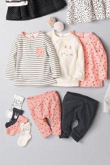 Next Bunny T-Shirt Three Pack (0mths-2yrs)