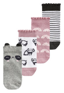 Next Panda Socks Four Pack (Younger)